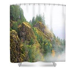 Cougar Reservoir Area Shower Curtain