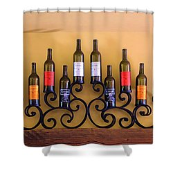 Cougar Winery Display Shower Curtain by Viktor Savchenko