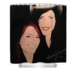 Cougrzz Rock Duo Shower Curtain