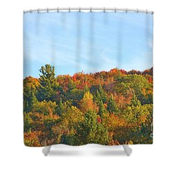 Shower Curtain featuring the photograph Couleurs D' Automne by Aimelle