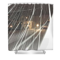 Coulter Snow  Shower Curtain