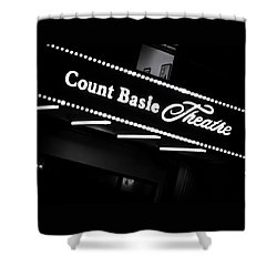Count Basie Theatre In Lights Shower Curtain