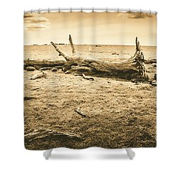 Countrified Australia Shower Curtain
