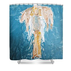Country Angel Shower Curtain