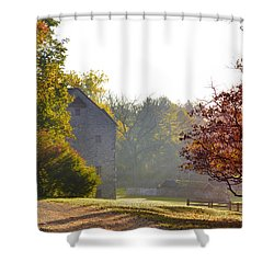 Country Autumn Shower Curtain by Bill Cannon