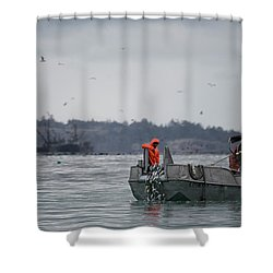 Country Club Shower Curtain by Randy Hall