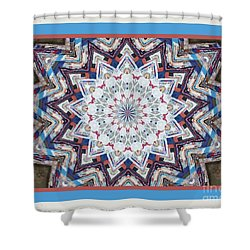 Country Color Quilt Shower Curtain