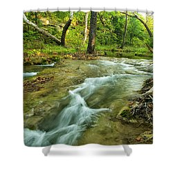 Country Creek Shower Curtain