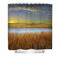 Country Field 2 Shower Curtain
