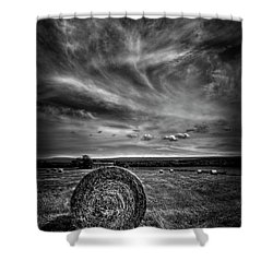 Country High Shower Curtain by Evelina Kremsdorf