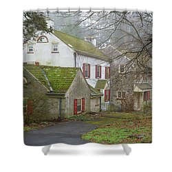 Country House Shower Curtain