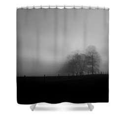 Shower Curtain featuring the photograph Country Morning Vision Georgia Usa by Sally Ross