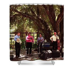 Country Music California Stage Shower Curtain by Ted Pollard