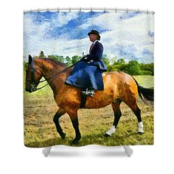 Shower Curtain featuring the photograph Country Ride by Scott Carruthers