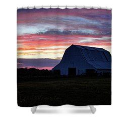 Shower Curtain featuring the photograph Country Sunset by Cricket Hackmann