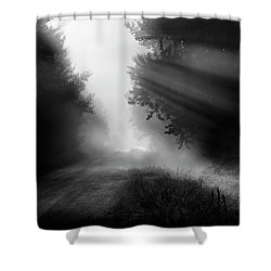 Country Trails Shower Curtain by Dan Jurak