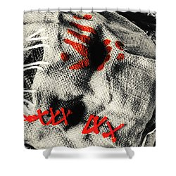 Countryside Of Terror Shower Curtain