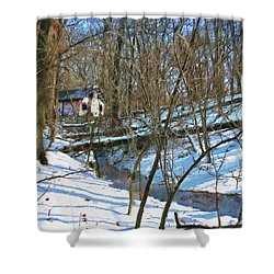 County Field House Shower Curtain