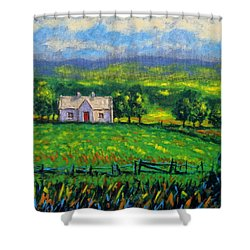 County Wicklow Ireland Shower Curtain by John  Nolan