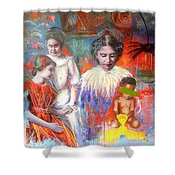 Courage- Large Work Shower Curtain