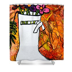 Courreges Shower Curtain