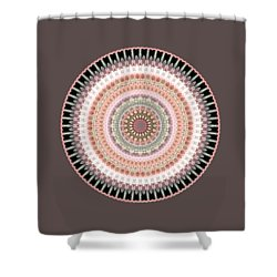 Court Of Sixty Knights Shower Curtain