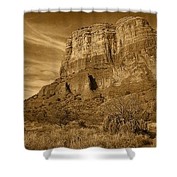 Courthouse Butte Tnt Shower Curtain