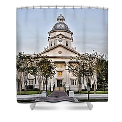 Courthouse In Moultrie Shower Curtain