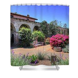 Courtyard Garden Shower Curtain
