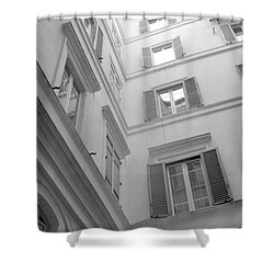 Courtyard In Rome Shower Curtain