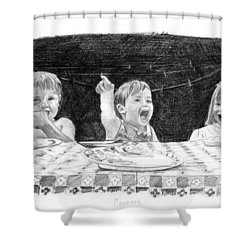 Cousins Shower Curtain