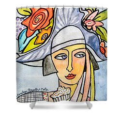 Couture Chapeau Shower Curtain