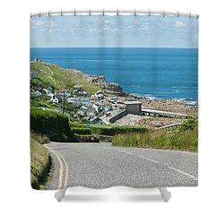 Cove Hill Sennen Cove Shower Curtain