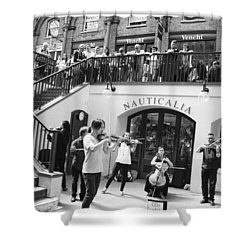 Covent Garden Music Shower Curtain