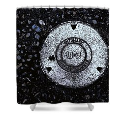 Cover Shower Curtain by John Rossman