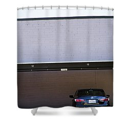 Covered Parking Shower Curtain