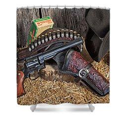 Cowboy Gunbelt Shower Curtain