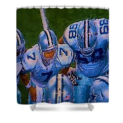 Cowboy Huddle Shower Curtain