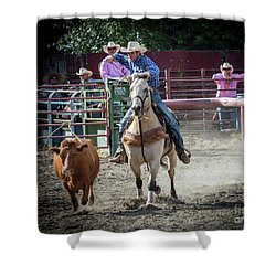 Cowboy In Action#2 Shower Curtain