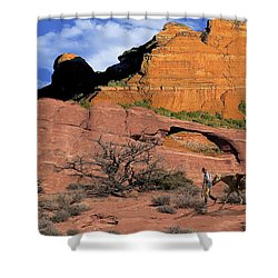 Cowboy Sedona Ver 2 Shower Curtain