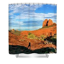 Cowpie 07-094p Shower Curtain by Scott McAllister