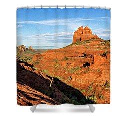 Cowpie 07-106 Shower Curtain by Scott McAllister