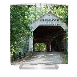 Cox Ford Bridge Shower Curtain
