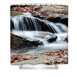 Coxing Kill In Autumn #1 Shower Curtain