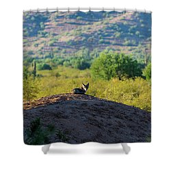Coyote Hill Shower Curtain