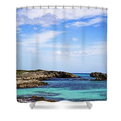 Cozumel Mexico Shower Curtain by Marlo Horne