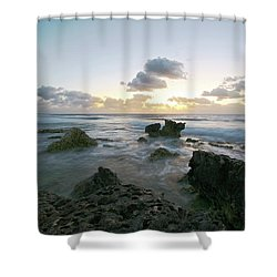 Cozumel Sunrise Shower Curtain