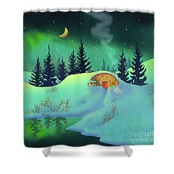 Cozy Quonset Shower Curtain