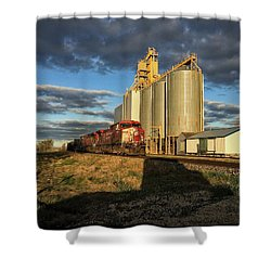Cp Train Shower Curtain