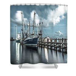 Cpt. Duyen Shower Curtain